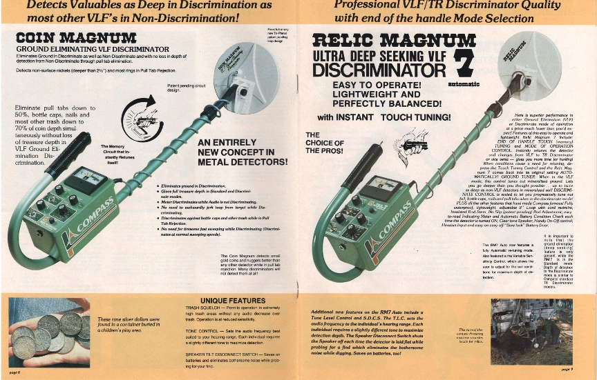 bounty hunter 2 metal detector manual