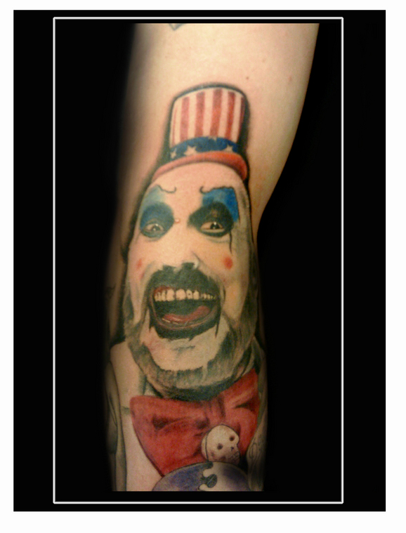 dallas texas tattoo skin art kayden captain spaulding house 100 corpses