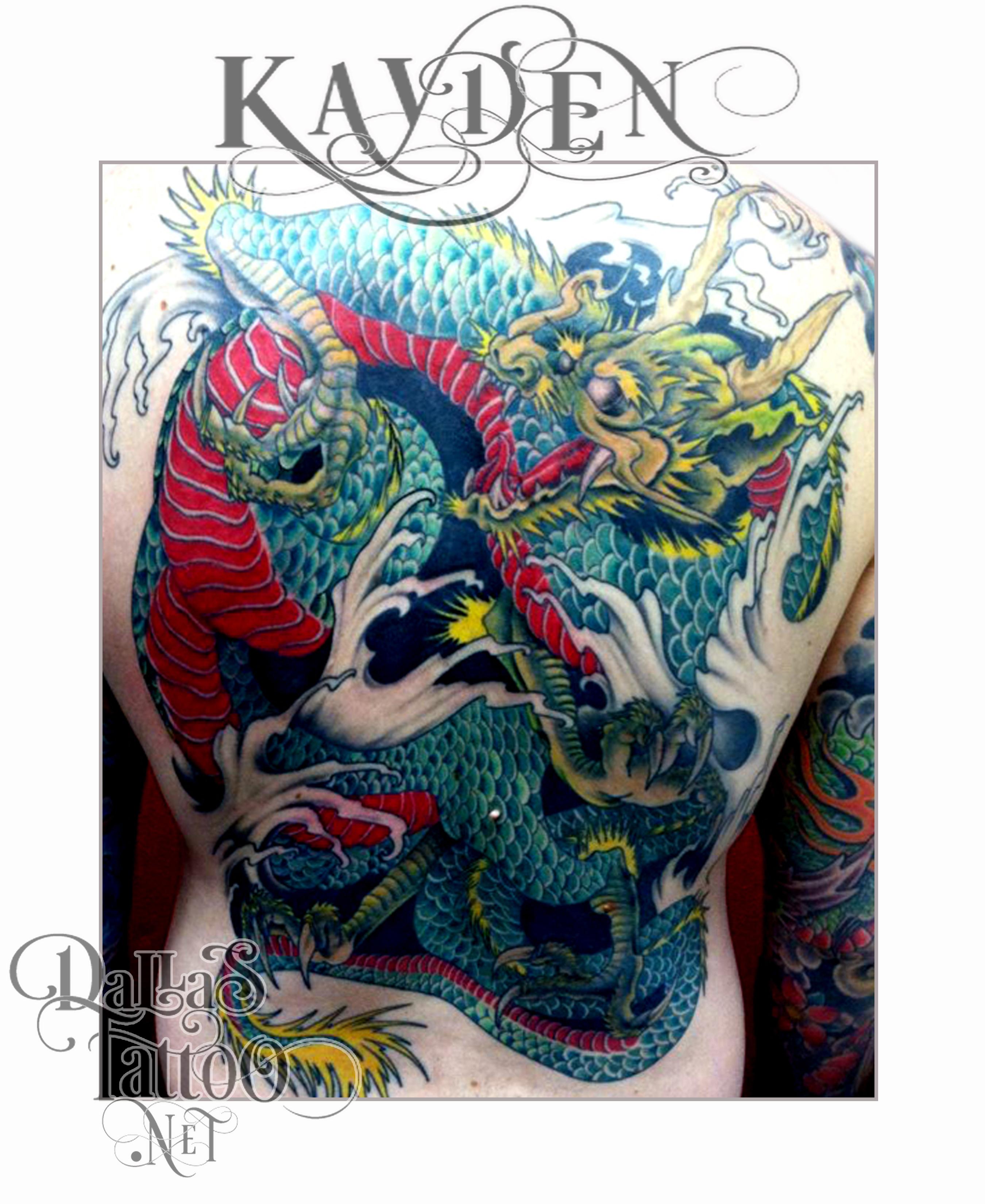 Dallas tattoo artist kayden digiovanni for Best tattoo artist in tokyo