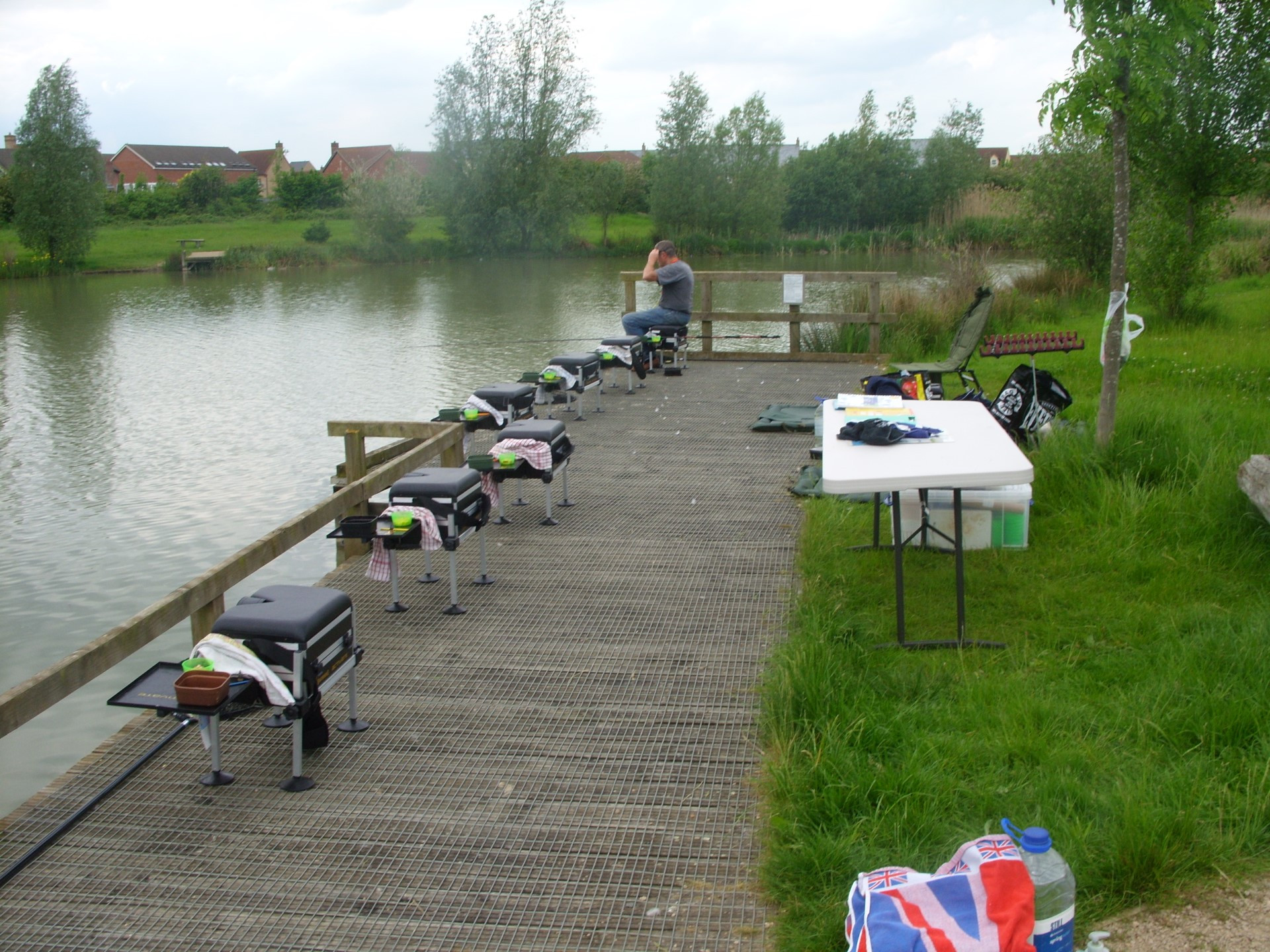Under 15 Training Day 2nd June 2012 Lake Ewart Cambourne Fishing Club SS854042 (8)
