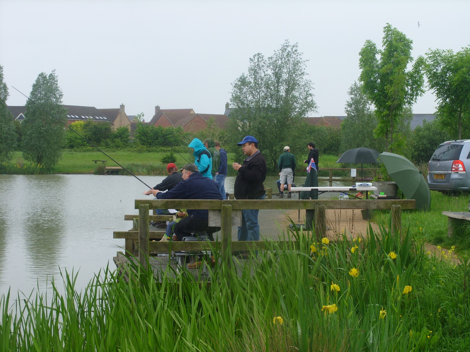 Under 15 Training Day 2nd June 2012 Lake Ewart Cambourne Fishing Club SS854042 (11)