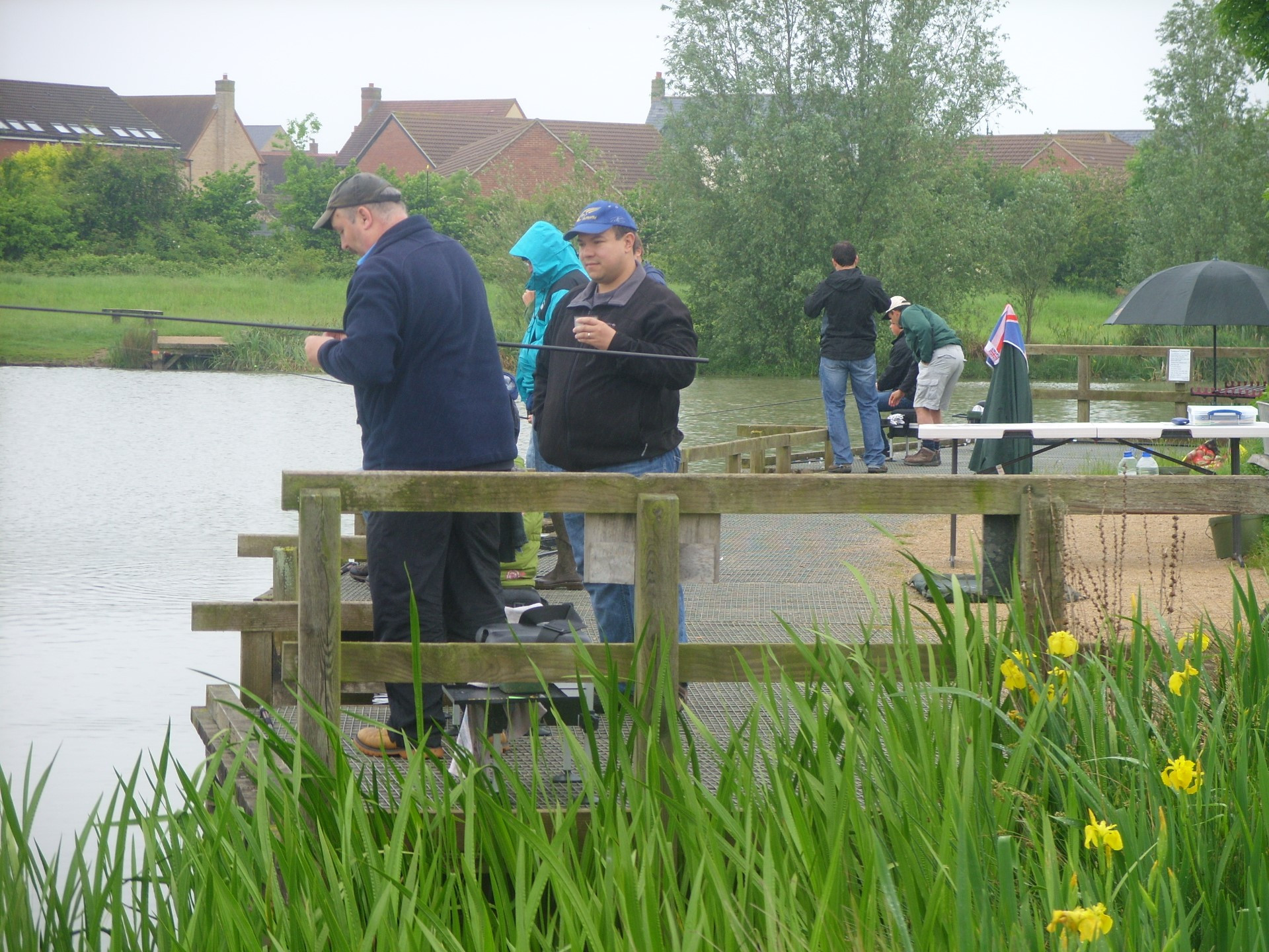 Under 15 Training Day 2nd June 2012 Lake Ewart Cambourne Fishing Club SS854042 (12)