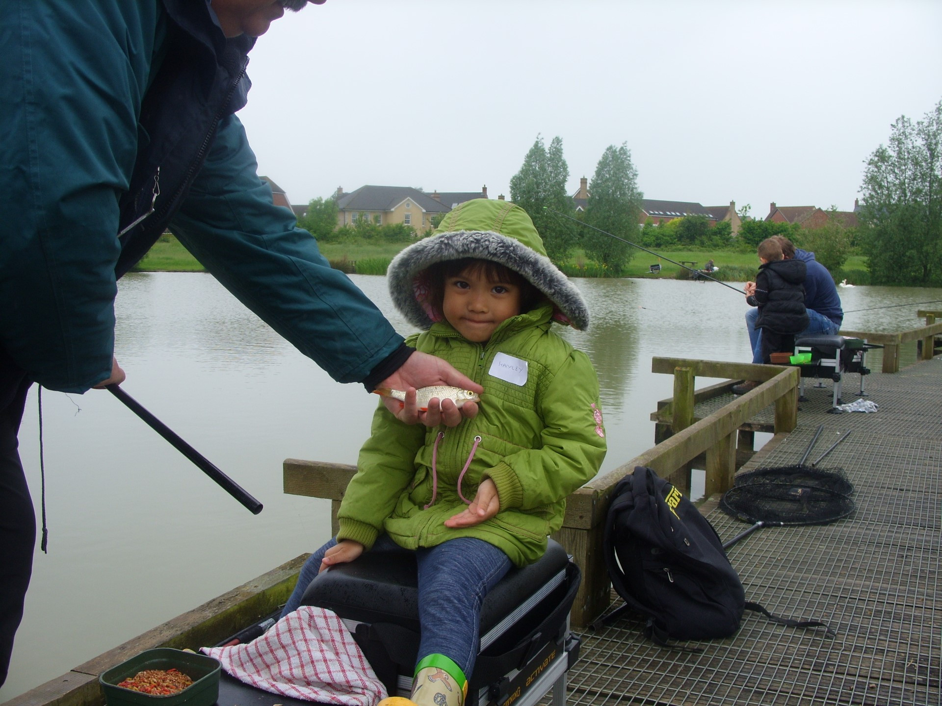 Under 15 Training Day 2nd June 2012 Lake Ewart Cambourne Fishing Club SS854042 (16)