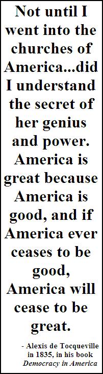 de Tocqueville quote