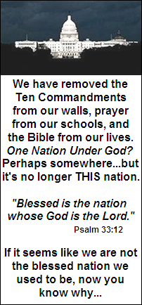 One nation under God? Not so much anymore...
