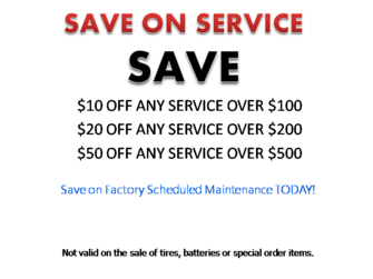 Save on Services Image