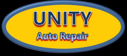 Unity Auto Repair And Tire Logo