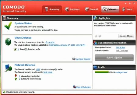Free Internet Security >> Remove Malware