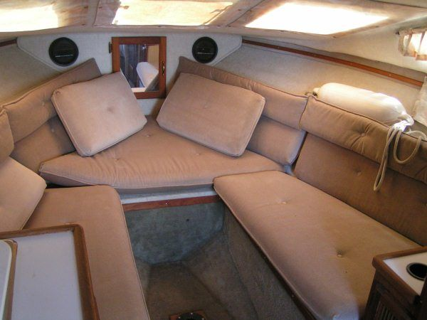 The doral project 89 cavalier page 1 iboats boating forums 457014 for How to restore a boat interior
