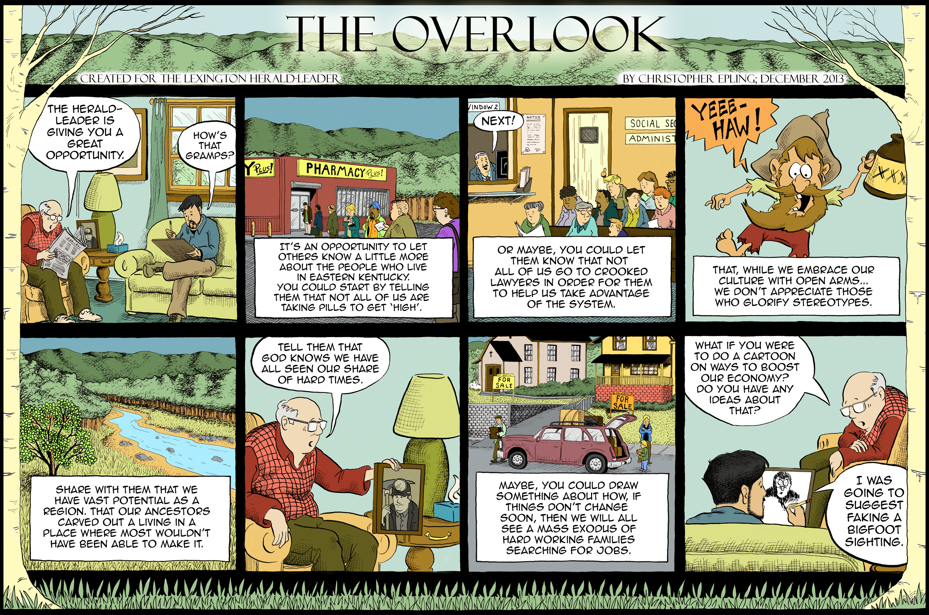Trolley comic strip