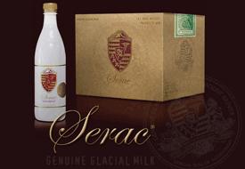 serac bottle water - rarest water in the world