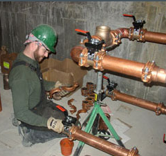 Large Residential, Commercial and Industrial Re-piping