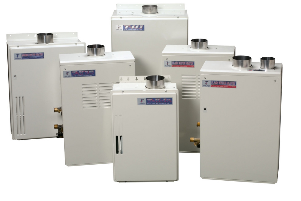 Acrown installs and services tankless water heaters of all leading brands.