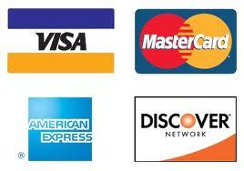 Major credit cards are accepted