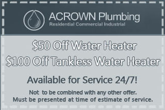 Take advantage of our special offer for tank and tankless water heater installations.