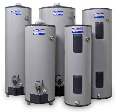Acrown istalls and services tank water heaters of all major brands.