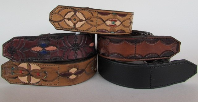Leather Belts: The Musician's Delight Collection