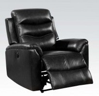 black power recliner acme