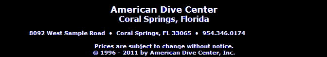 American Dive Center South Florida