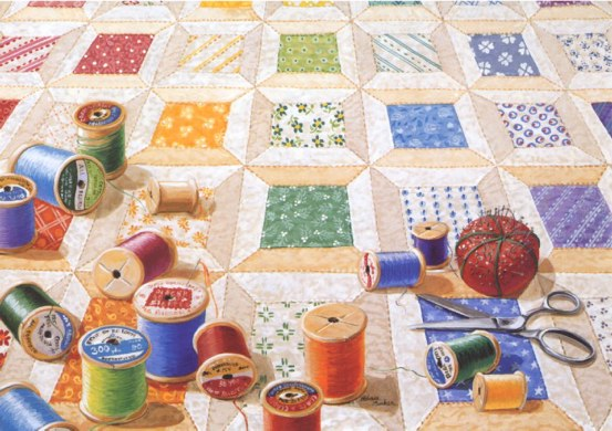 rebecca barker's quiltscapes