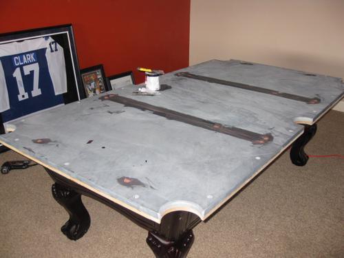 Thebilliardmoverspooltablemovers - Pool table slate repair