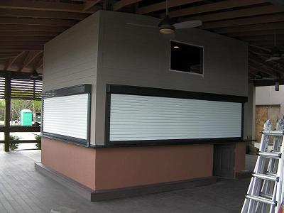 Awesome Like All Roll Up Doors, Slat Doors Roll Into A Coil To Save Open Air Space  Above In Any Building Or Warehouse.