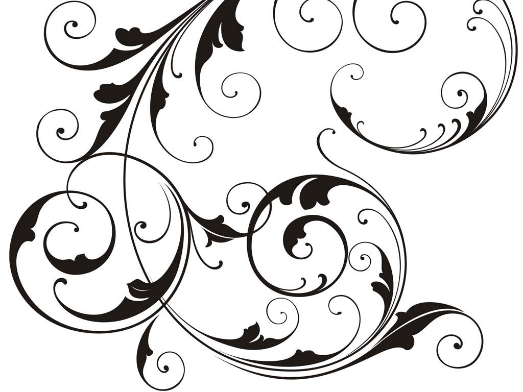 Black Swirl Design Cake Ideas And Designs