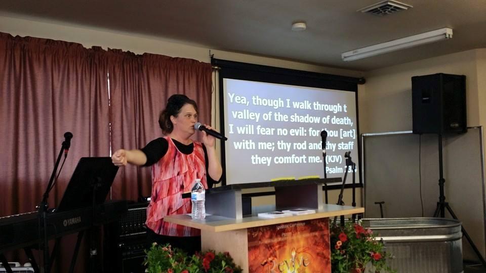 sister preaching
