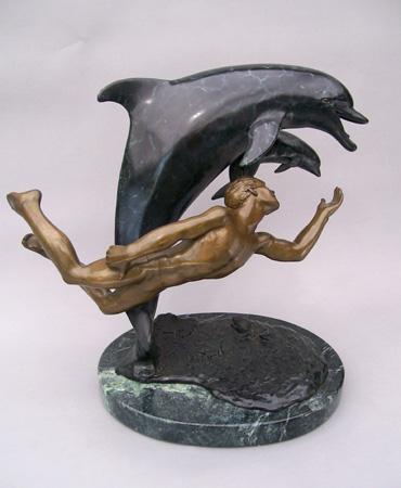 dolphin bronze