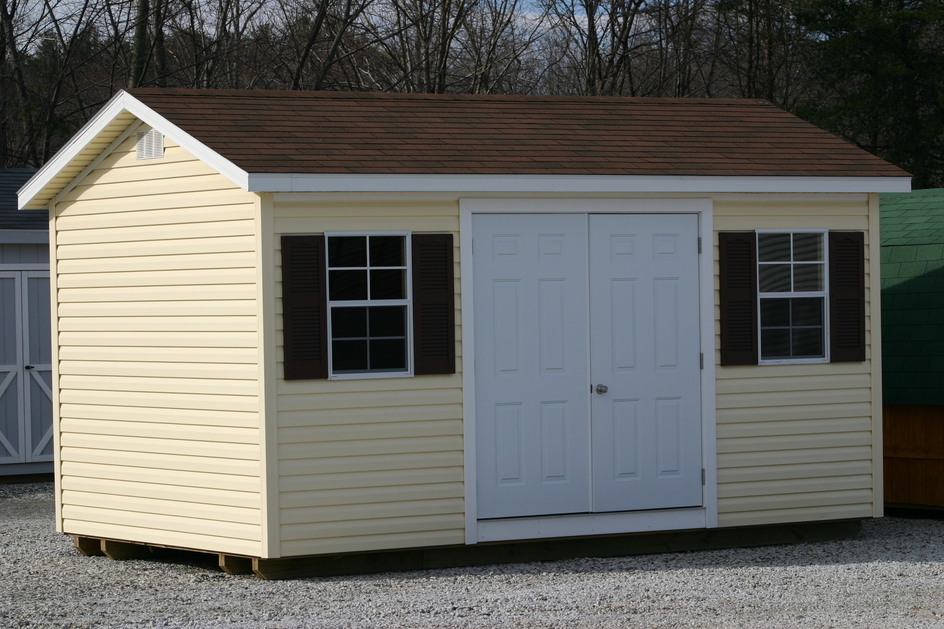 North Carolina NC Vinyl Sheds