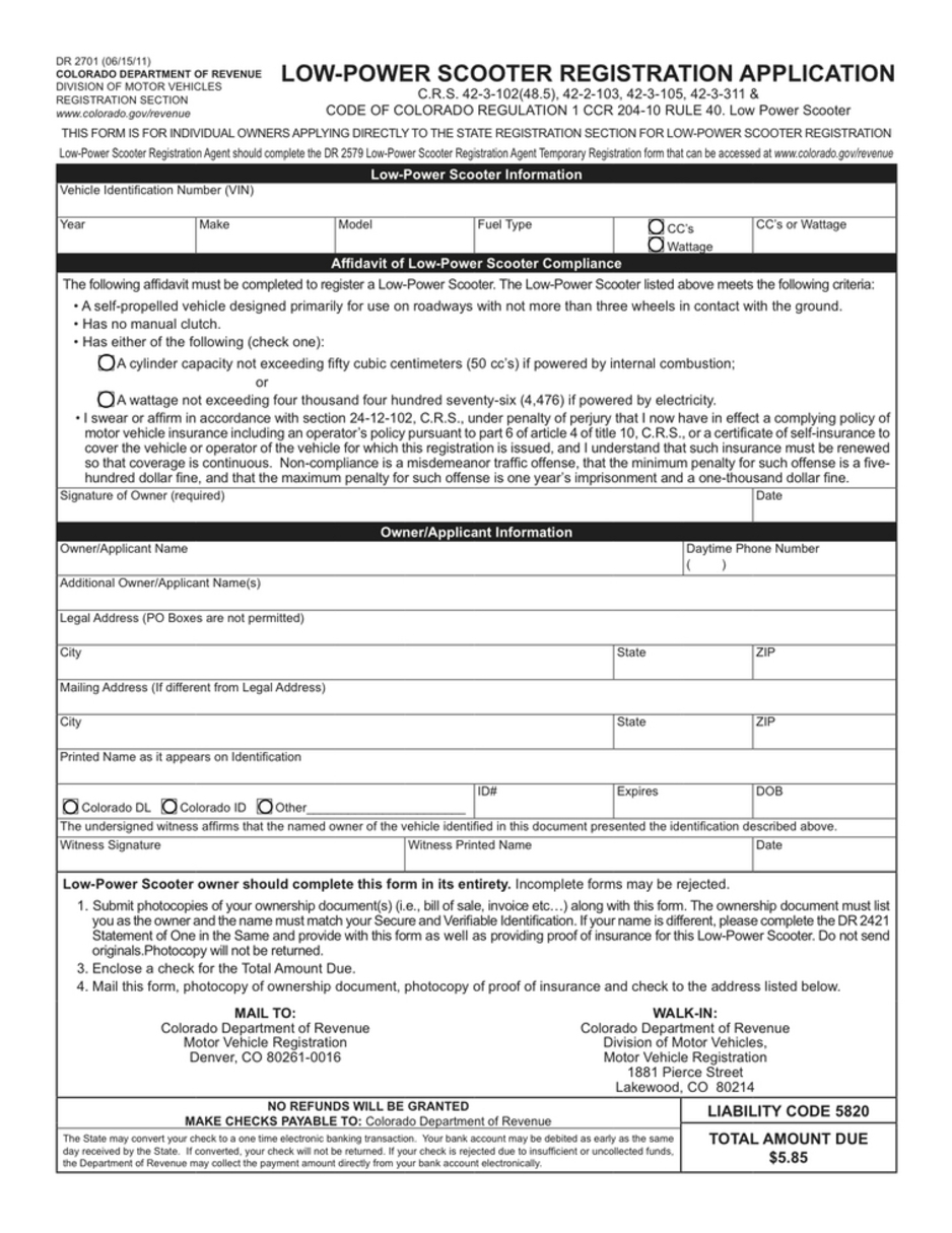 Colorado department of motor vehicles registration for Department of motor vehicles registration online
