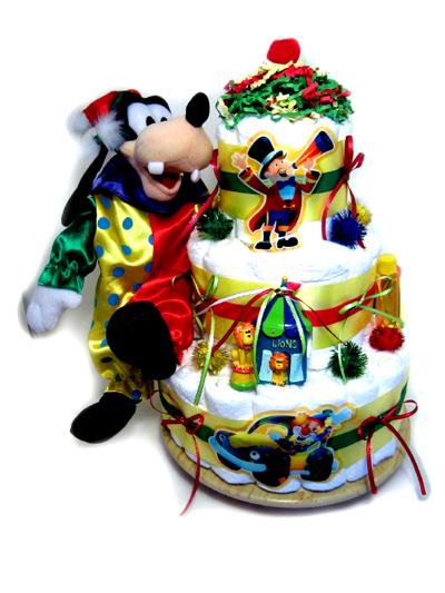 Circus Diaper Cake