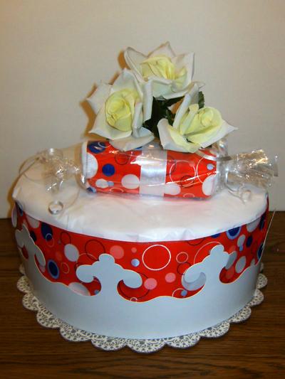 Future Queen Diaper Cake