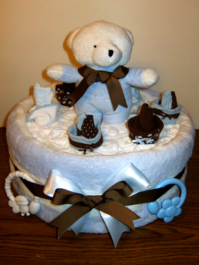Small Wonders Bear Diaper Cake