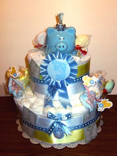 Future Banker Diaper Cake