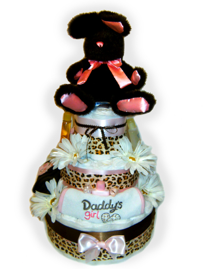 Daddy's Girl Diaper Cake