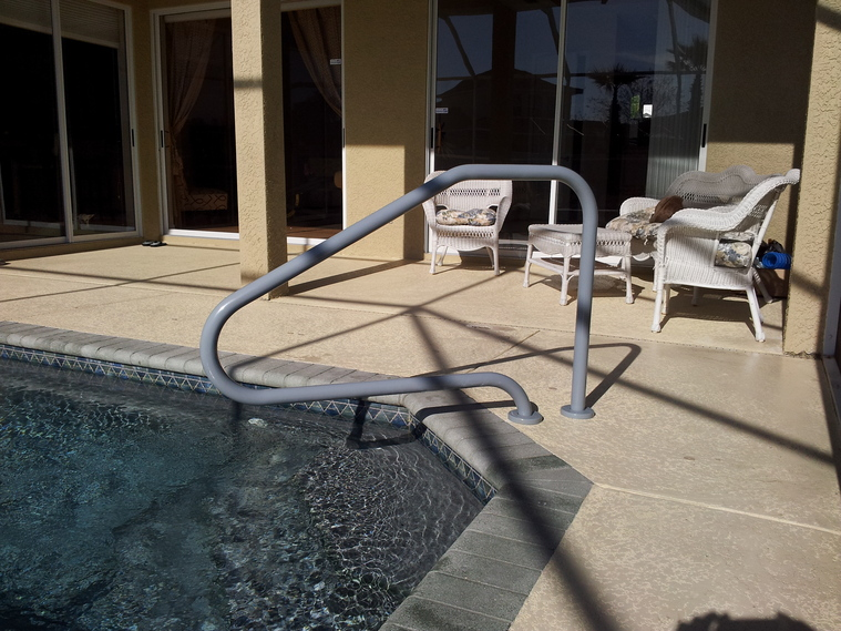Pool and Spa Handrails, Handrails Tampa, St  Petersburg