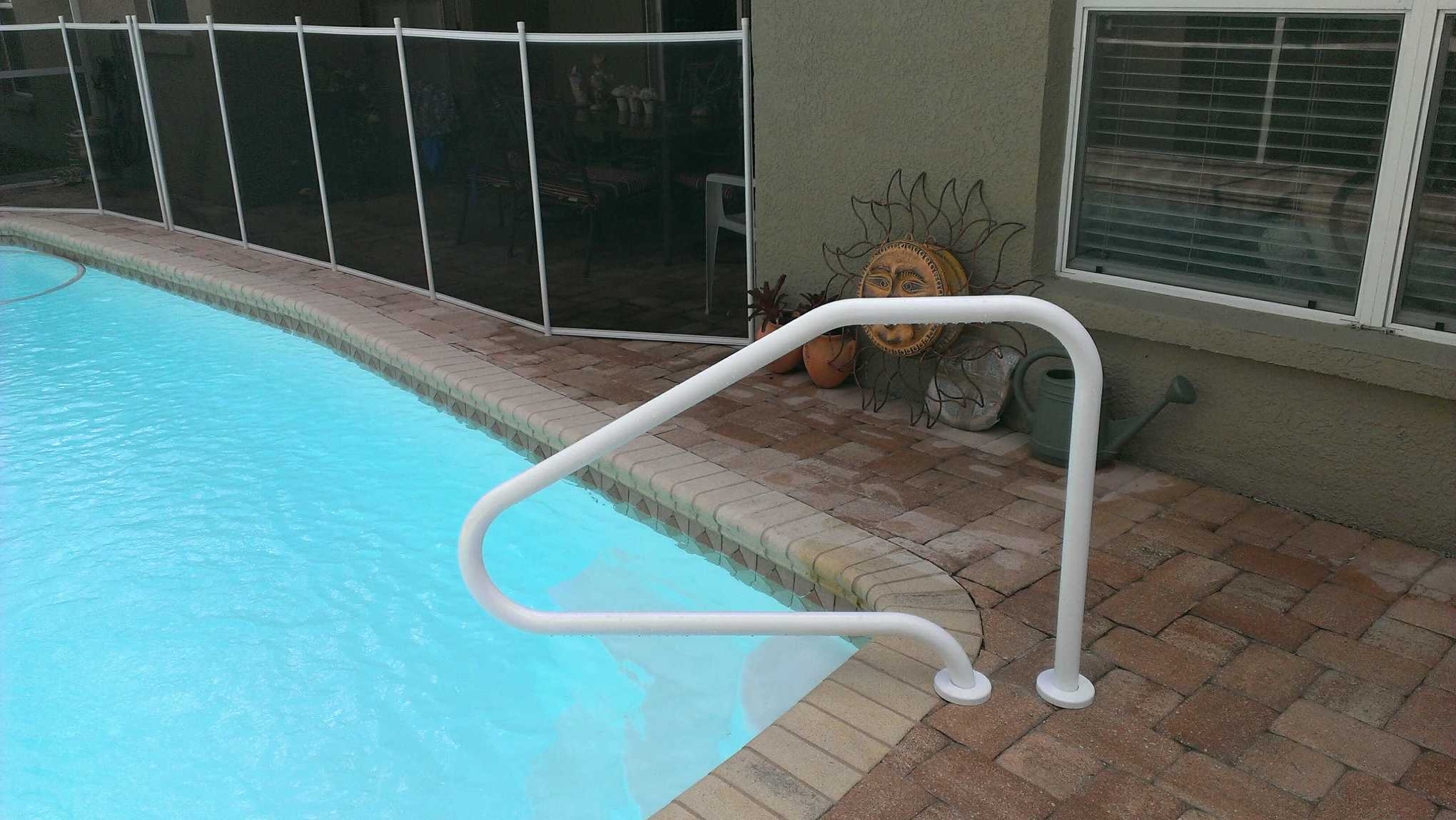 Pool And Spa Handrails Handrails Tampa St Petersburg Clearwater Brandon