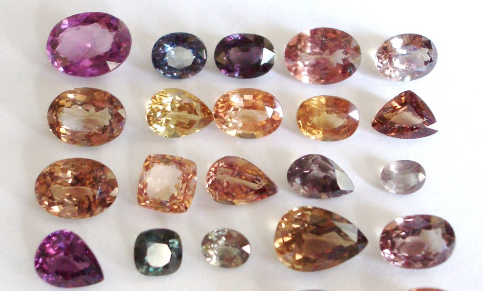 A Rainbow of Color in Garnets