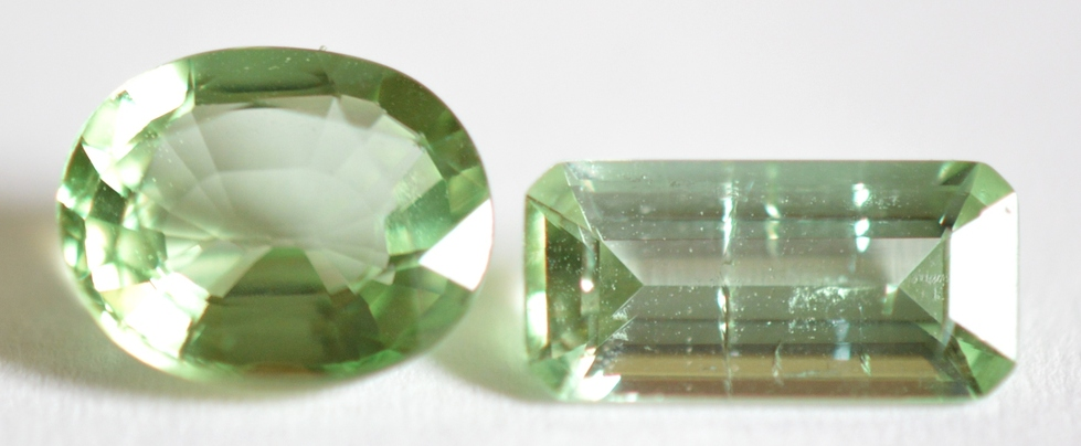 aquamarine faceted oval gem gemstone asp green picture natural p pale