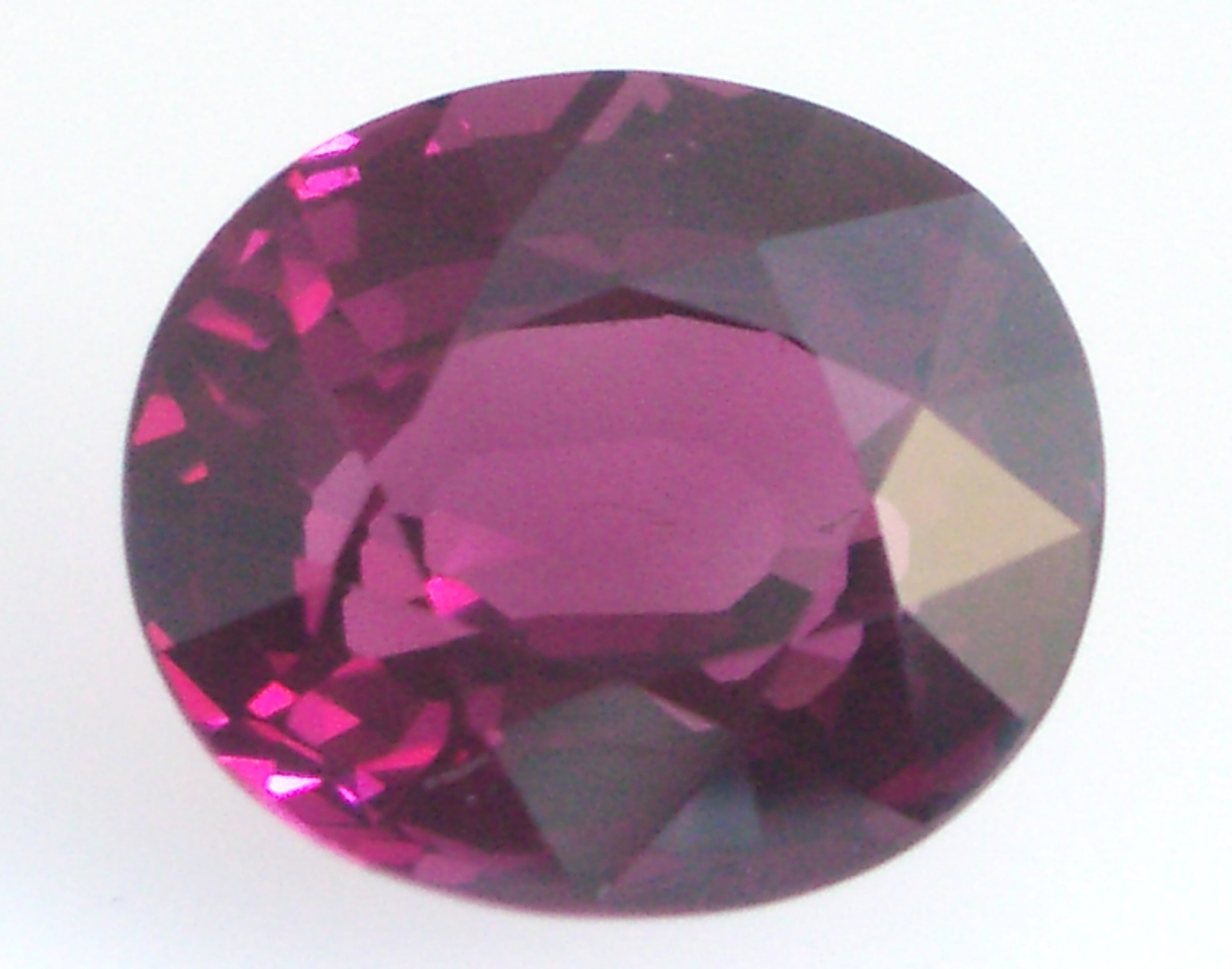 treated red purple gemstone certified ebay color loose topaz gia ct oval itm