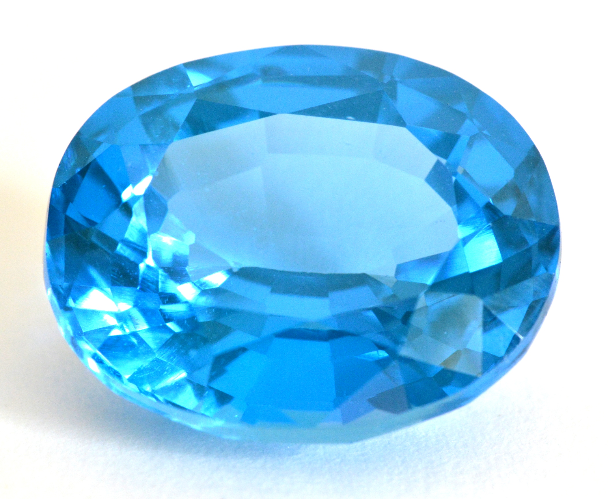 Natural Blue Spinel Ring