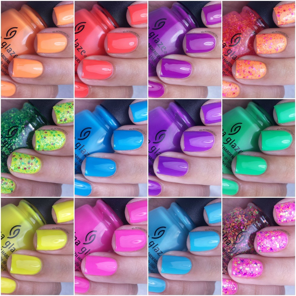 China-Glaze-Electric-Summer-Collection