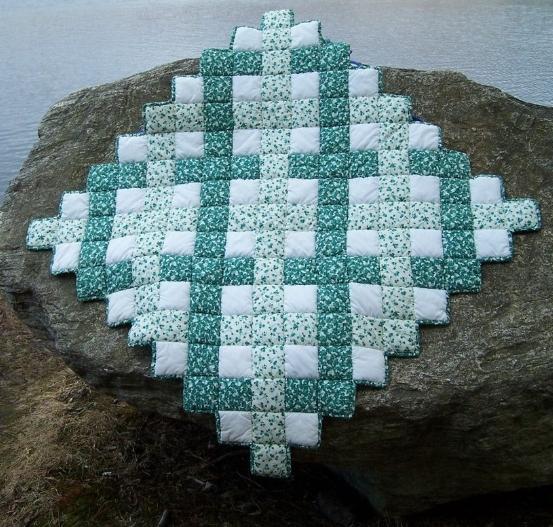 ivy, patchwork quilt