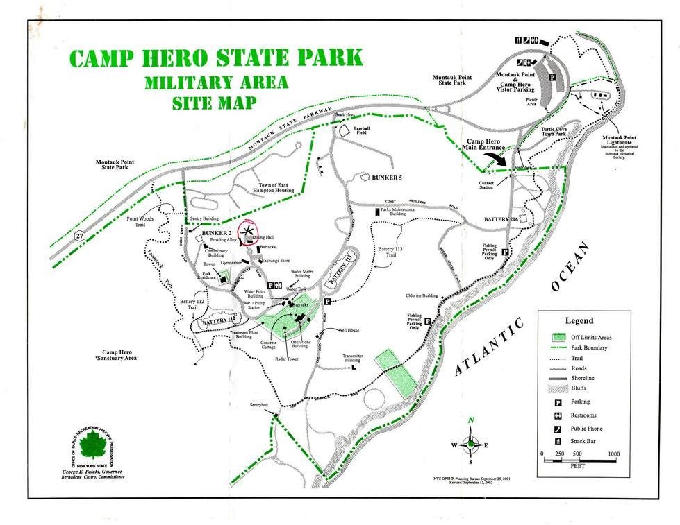 Camp Hero Montauk Long Island Nichols