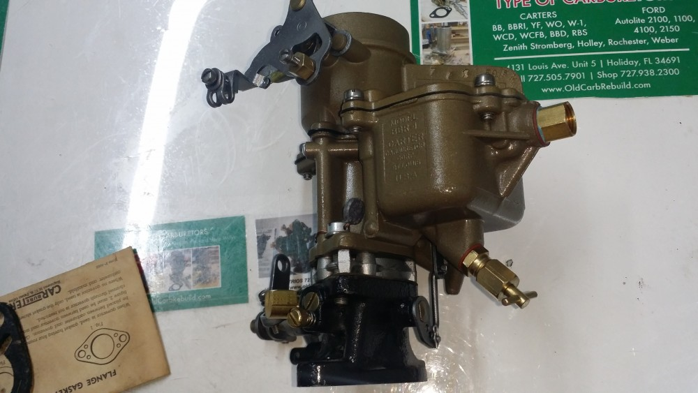 W O on Zenith Industrial Carburetor