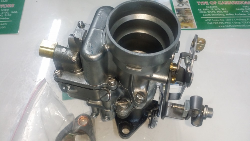 W O on Carter Carburetor Ford 300