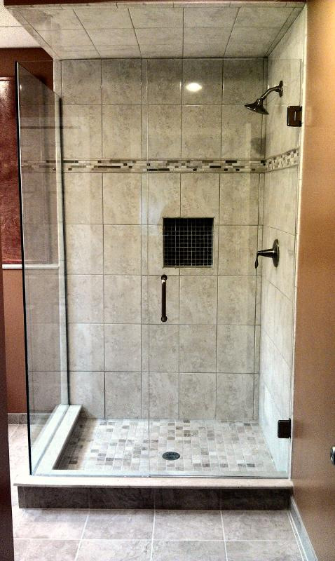 Euro Shower Doors Michigan, Euro Shower Door Pictures Michigan, Euro Shower doors, Shower doors, Shower Glass ,