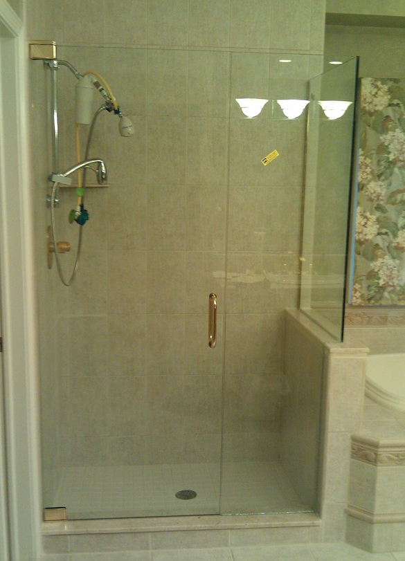 Old Fashioned Shower Door And Panel Pictures Custom