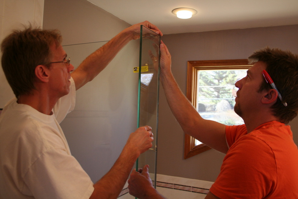 Euro Shower Doors Michigan  Installation